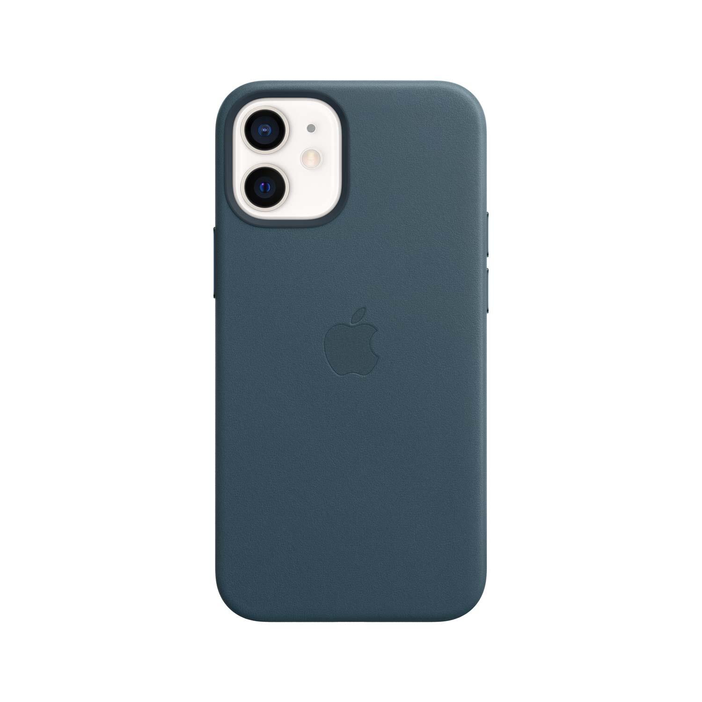 Apple iPhone 12 Mini Leder Case mit MagSafe - Baltischblau