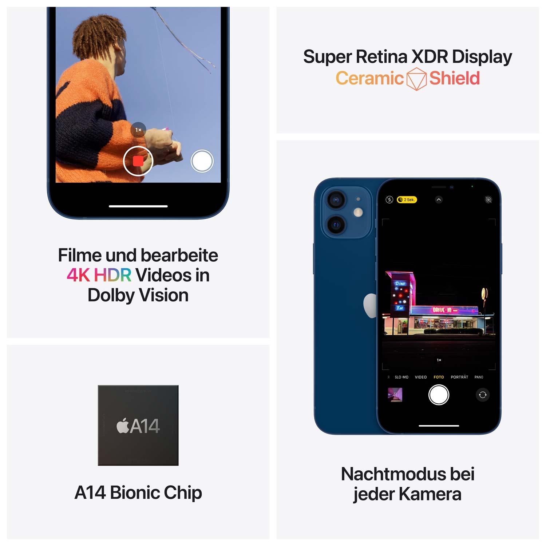 Apple iPhone 12 - Schwarz - 64GB