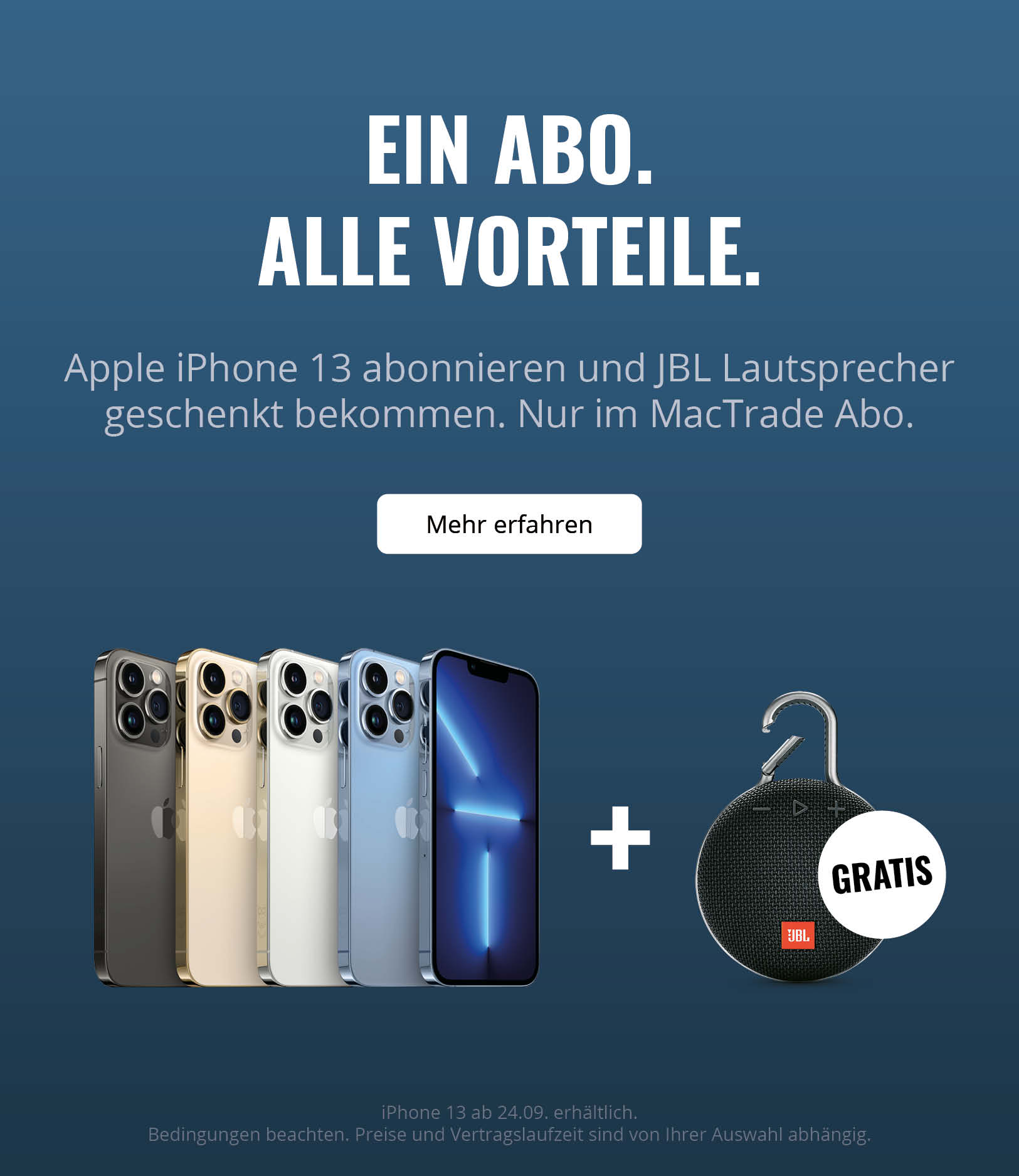 iPhone Abo Aktion