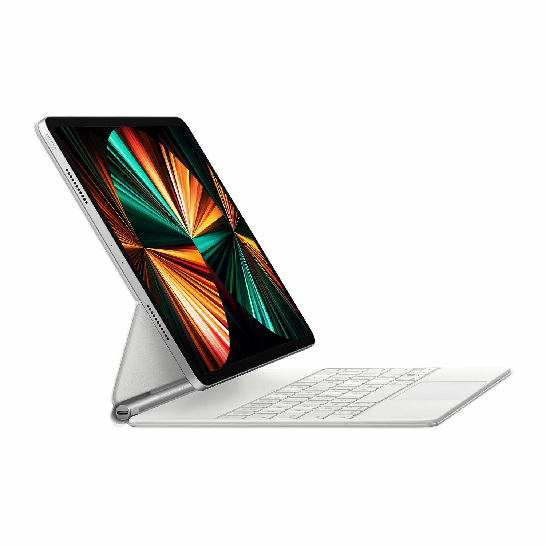 Apple Magic Keyboard für das 12.9'' iPad Pro (4.+5. Generation) weiß - Deutsch